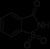 sacarina molécula
