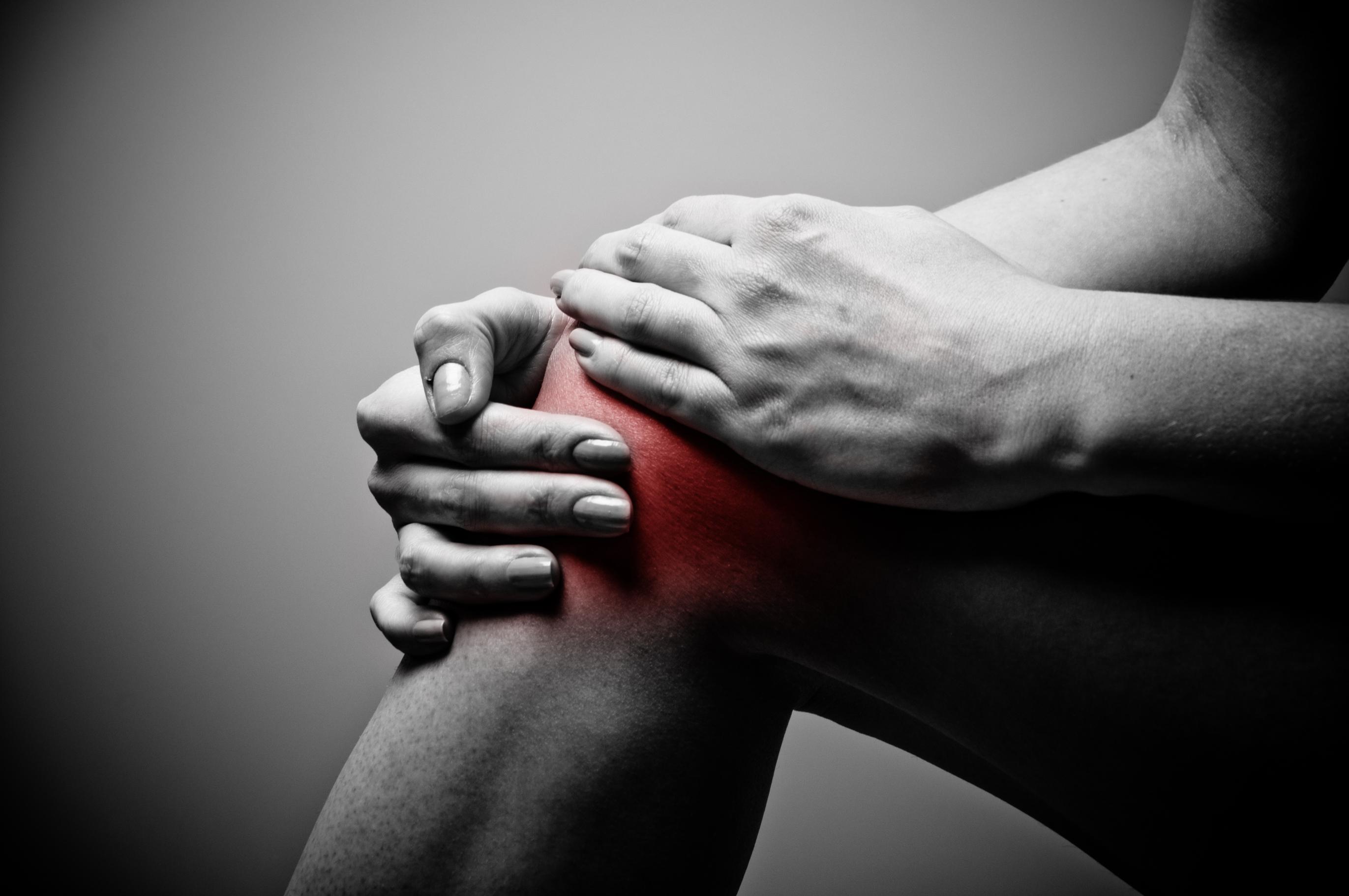 Inhibición muscular artrogénica