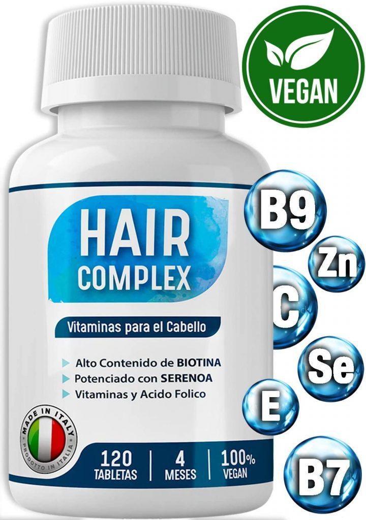 hair complex para frenar la calvicie